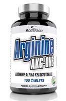 Anderson Arginine Akg-One Suplemento Alimenticio de Arginina Alfa Cetoglutarato - 100 Cápsulas