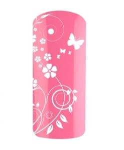 Sonailsofrench - Gel UV couleur rose bonbon pour faux ongles et nail art -9399 - sans couche de dispersion