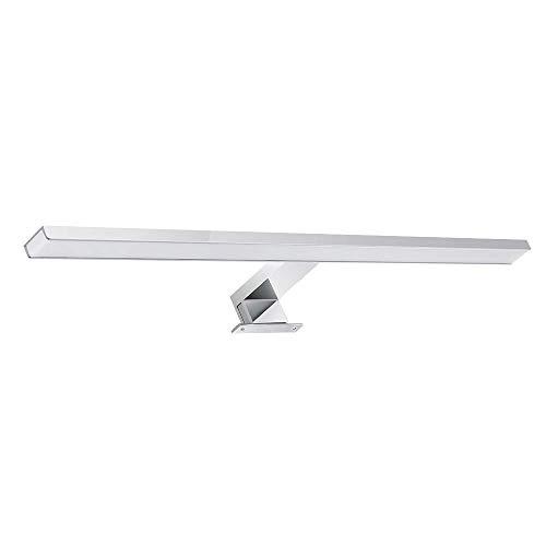 Galapara LED Spiegelleuchte Badezimmer, 8W IP44 Badlampe Neutralweiß 800LM für Badezimmer Wandmontage Spiegellampe,Edelstahl Wandleuchte Spiegellampe 60cm Spiegelleuchten