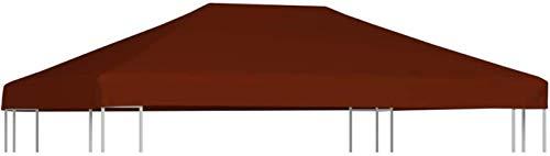 ZHENG Gazebo Plegable Carpas Plegables Campamento de Acampar Gazebo Top Cubierta Superior 310 g/m², 3x4 m