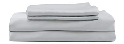 Hotel Sheets Direct 100% Bamboo Bed Sheet Set (Queen, Grey)