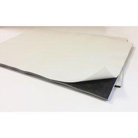 10 stuks. Magnetisch papier, zelfklevend, zacht, magnetisch, voor het maken van magneten, formaat A4, 0,8 mm dik   123