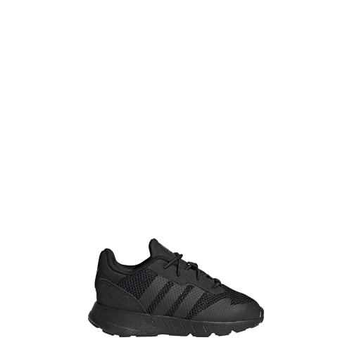 adidas ZX 1K EL I, Zapatillas Deportivas Unisex niños, Core Black Core Black Core Black Black, 26 EU