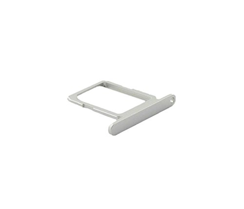 Samsung SM-G920F Galaxy S6 Simkartenhalter Schlitten, Sim Card Holder Tray, Weiss, white