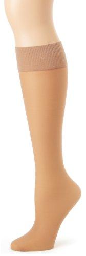 Hanes Alive Full Support Sheer Knee Highs Size:1 SIZE Color:Little Color (2 Pack)