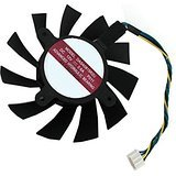 Video Card Cooling Fan for AVC NVIDIA GTX 550 Ti GTX 560 DASA0815R2U Series New Notebook Replacement Accessories 4-Pin DC12V 0.6A 75x75x15mm