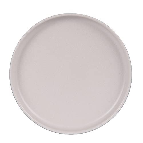 Table Passion - Plato de postre 22 cm, uno beige reactivo (lote de 6)