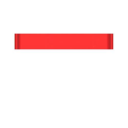 HANYF Widerstandsband, Rutschfester Elastischer Hüftgurt, Weibliches Fitnessband, Geeignet Für Kniebeugen, Yoga Und Hüftdehnung,Rot