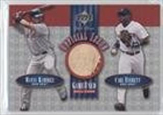 Manny Ramirez; Carl Everett (Baseball Card) 2001 Upper Deck Gold Glove - Official Issue Game-Used Balls #OI-RE