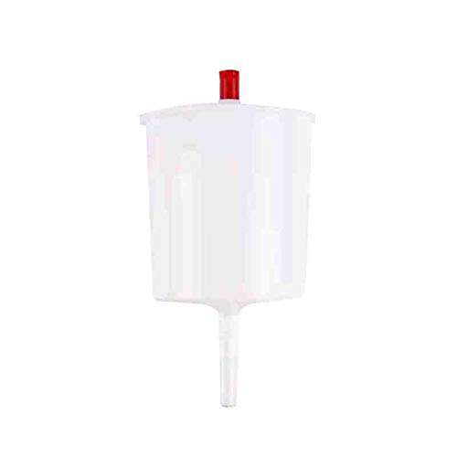 Communion Cup Filler - No Drip Dispenser - One Handed Button Release - Stainless Steel Stem - 16 oz