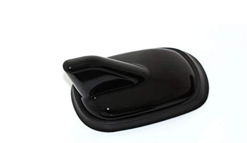 N / A Conciso FIT Aletas de tiburón Coche del Adorno de la Antena for el VW Golf MK6 Tiguan CC Jetta for Audi A4L A6L Q5 A1 A3 A5 A8 para Antena de Coche (Color : Black)