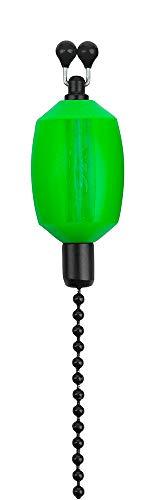 Fox Black Label Dumpy Bobbins - Optischer Bissanzeiger, visuelle Bissanzeige zum Karpfenangeln, Bobbin Einhänger zum Angeln, Farbe:Green