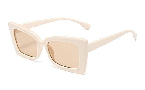 U/N Gafas de Sol de Mariposa a la Moda para Mujer, Gafas de Sol Vintage para Mujer, Gafas Negras-1