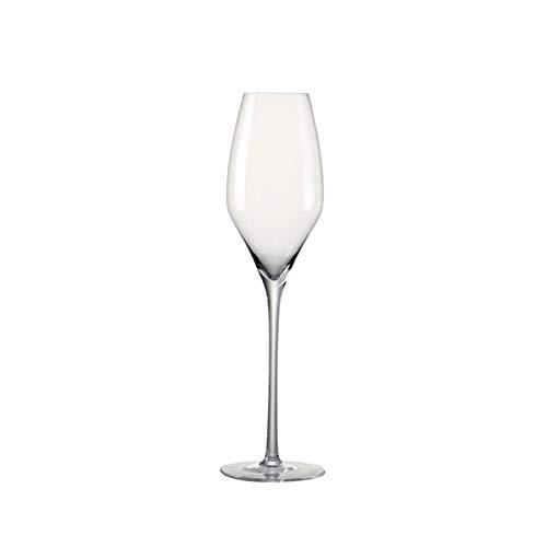 KJGHJ Conjunto De 2 Gafas De Flauta De Champagne De Cristal Libre De Plomo para Boda/Navidad Family Party 320ml / 11oz, Flautas De Champagne