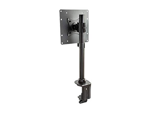 Monoprice Adjustable Tilting Monitor Mount - Black | Compatible with Screens up to 42 Inches - Workstream Collection (134078)