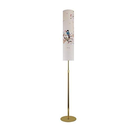 Instelbare vloerlamp Nordic eenvoudige moderne vloerlamp woonkamer slaapkamer studie kinderkamer slaapbank creatieve LED verticale tafellamp afstandsbediening hoofdverlichting