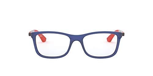 Ray-Ban JUNIOR 0ry 1549 3734 48 Monturas de gafas, Transparente Blue, Unisex-niños