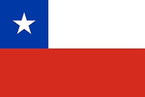 magFlags Flagge: Large+ Chile | Querformat Fahne | 1.5m² | 100x150cm » Fahne 100% Made in Germany