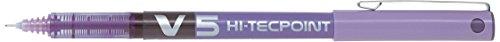 Pilot BXL-V5-V Bolígrafo de tinta líquida, color violeta, Einzelbett