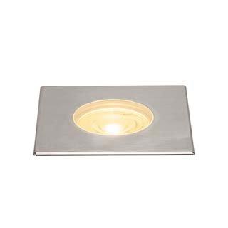 SLV Dasar Bodeneinbau-Strahler, Aluminium, Edelstahl