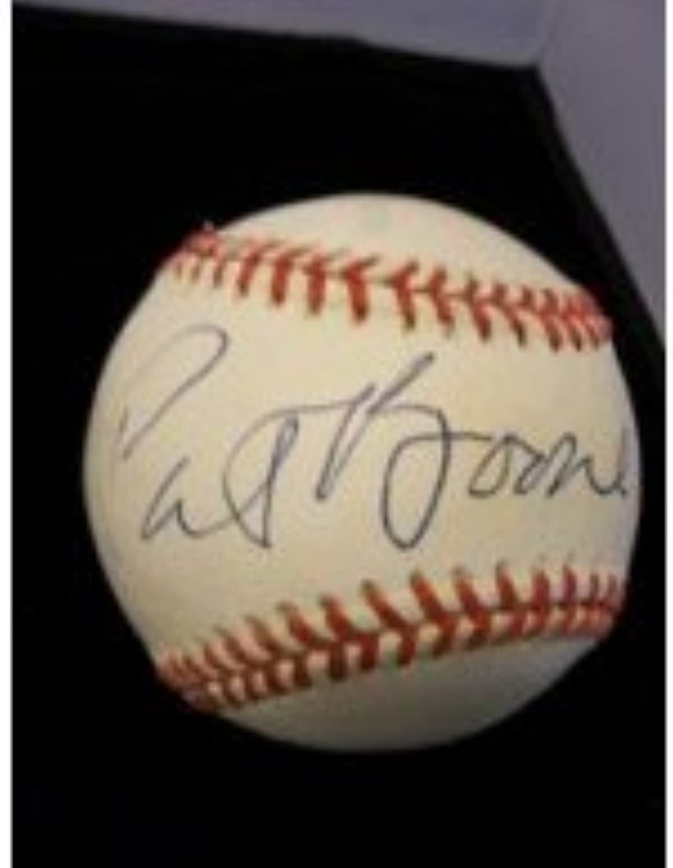 comprar barato Firmado Boone, Pat Pat Pat American League Baseball en tinta azul en el golpe (Toned) Autografiada  100% garantía genuina de contador