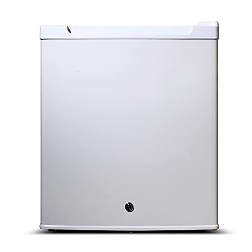 Mini-Frigoríficos Refrigerador Compacto 30L Hotel Refrigerador de una Puerta Mini refrigerador pequeño Apartamento Cantina Refrigerador pequeño,White,48.5 * 42 * 40.2