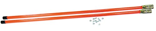 Best Buy! NEW SNOW PLOW BLADE GUIDE FLORESCENT ORANGE 48 LONG