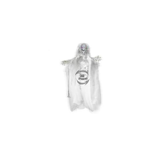 Widmann 01415 ? Rotatif Fin sorcière avec Yeux à Couleur Changeante, erschreckende Sons, Dimensions Env. 153 cm