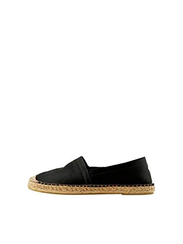PIECES Female Espadrilles Leder 39Black