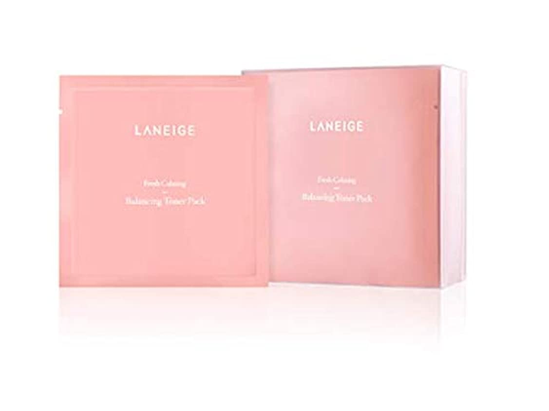 請求寂しいケージ【ラネージュ.Laneige]フレッシュカミングバランシングトナーパック(8ml×20個)+無料プレゼント(写真参照)/ Fresh Calming Balancing Toner Pack(8ml×20ea)+ free gift(in picture)