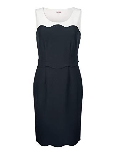Alba Moda Kleid in Etuiform Blau
