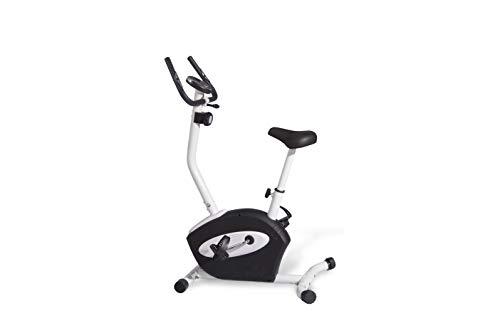 Athlyt - Bicicleta estática magnética, negra