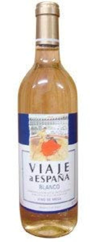 お酒幼児ハーフ〔ワイン〕 ビアッヘ ア エスパーニャ 白 750ml 1本 (スペイン)(白ワイン) 日本酒類販売株式会社