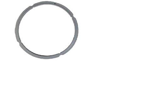 Tefal 980549  Junta para ollas, caucho, 8 y 10 L con diámetro de 25.3 cm, color gris