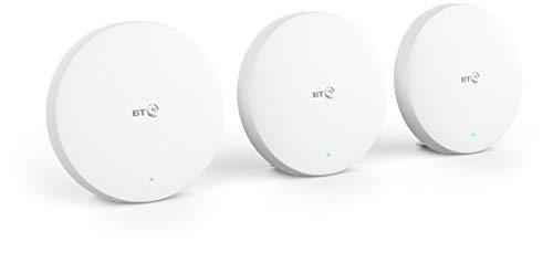 Photo of BT Mini Whole Home Wi-Fi, Pack of 3 Discs, Mesh Wi-Fi for Seamless, Speedy (AC1200) Connection, Wi-Fi Everywhere In medium to large Homes, App for Complete Control and 3 Year Warranty