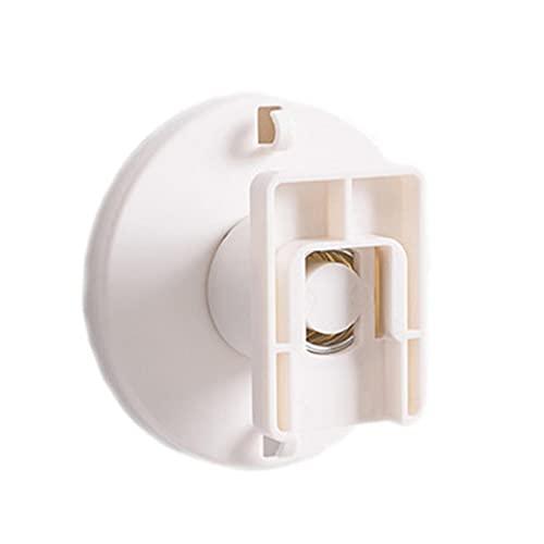 cypressen Soporte de fijación para enchufes, regleta autoadhesiva, gestión de cables autoadhesiva, no perforado, para montaje en pared