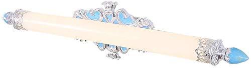 LAZ Vanidad LED de luz de estilo victoriano tocador de baño Iluminación de baño de pared de luz (tamaño : C-white-10w-70cm)