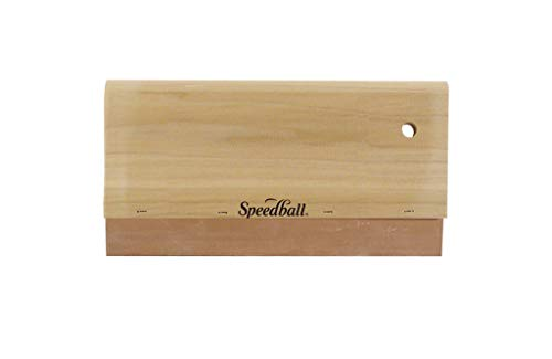 Speedball Squeegee with Wood Handle - 8 in