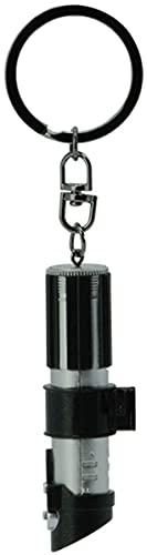 Star Wars Darth Vader Lightsaber Unisex Llavero Colgante Negro/Plateado, Plastico,