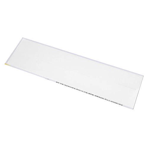 SALUTUYA Etiqueta engomada de la Flecha Hecha de Pegamento para neumáticos, tamaño pequeño, 12 Piezas, para Amantes del Tiro con Arco(White)