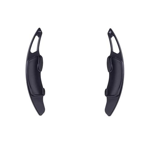 XIAHUAIREN Extensión de Remolque de Cambio de Mando de Volante Negro, Ajuste para Subaru Legacy Forester BRZ XV Outback Impreza 2015 2016