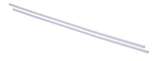 hr-imotion 12110601 Türkantenschutz durchsichtig (2x 640 mm) [U-Profil | Hochflexibel | Zuschneidbar   Selbstklebend]