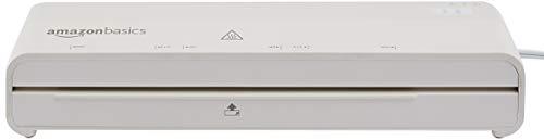 Amazon Basics 9-Inch Thermal Laminator Machine with Rapid Warm-Up (1 min)
