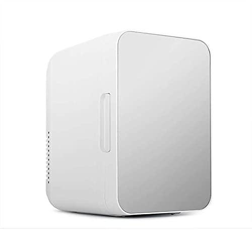 WT9 Mini Nevera Nevera Termoeléctrica Portátil, Congelador De Automóviles Refrigerador Compacto, Ideal para Playa/pícnic/Camping/Coche,Silver