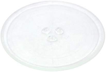 Universele Magnetron Draaitafel Glazen Plaat met 3 Armaturen, Sterke Kwaliteit Magnetron Glas 245mm