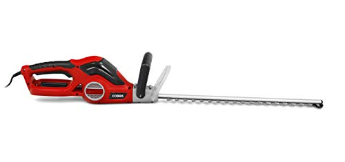 MOSKILA Cobra HT550E 55cm (22in) Electric Powered Hedge Trimmer, 600w Motor, 20mm Tooth Spacing