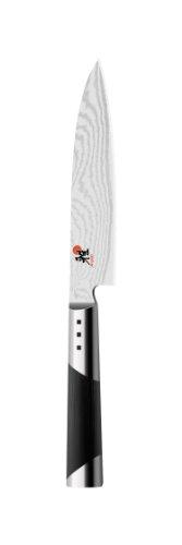 Miyabi - Cuchillo (Acero inoxidable, Negro, Acero inoxidable)