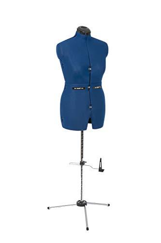 Adjustoform HOSENBÜSTE + Schneiderbüste Kombi-Form, Größe L, mit angesetzten Beinen, Größenverstellbar,mit wichtiger Rückenlängenverstellung, inklusive Schutzhülle.