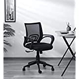 Digionics Chairs Delta MB Chair Umbrella Base Office Chair (Standard, Black)