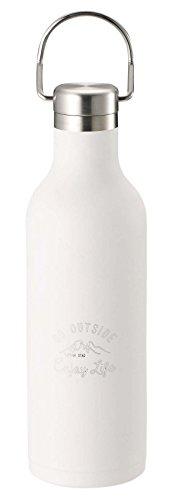 キャプテンスタッグ(CAPTAIN STAG) スポーツボトル 水筒 直飲み ダブルステンレスボトル 真空断熱 保温・保冷 ハンガーボトル 480ml ホワイト モンテ UE-3422